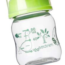 PP BPA free Customized bottle color nursing bottle wholesale straight regular neck feeding bottle for baby