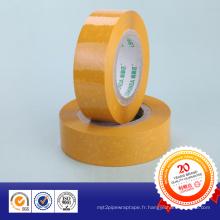 Ruban d'emballage BOPP transparent de haute qualité