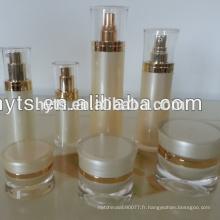 Bouteille acrylique de lotion vide pour l'emballage cosmétique