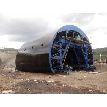 Carrinho de revestimento de túnel hidráulico para túnel rodoviário