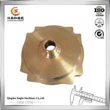 Las piezas de cobre amarillo modificadas para requisitos particulares de la fundición de arena a presión las piezas de cobre de la fundición la fundición de bronce