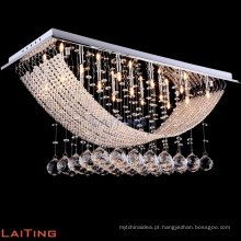 LED moderno baccarat vidro cristal lâmpada pingente luz 92015