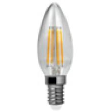 Filamento de LED luz C30-Cog 4W 470lm E14 4PCS filamento