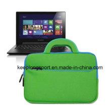 """Cómoda y Fasionable bolsa de computadora de neopreno con la manija para 15 """"Laptop"""
