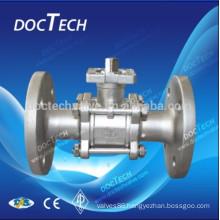 1.4408 flanged ball valve ANSI/JIS/DIN Standard