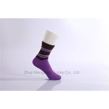 Chaussettes en coton à manches longues à la mode Couleurs brillantes en coton fin