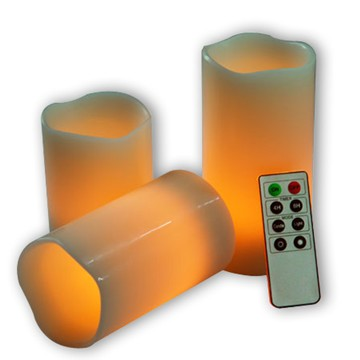 Infrared LED candle set