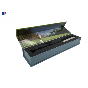 Book shape sport product paper box