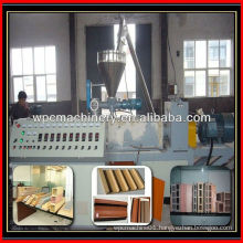 wood plastic machine line recycled plastic and wood