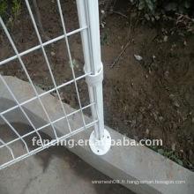 Clôture en treillis soudé en plastique (fabricant)