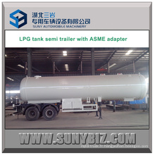 39000L Double Axles 16t LPG Trailer