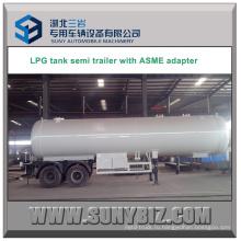 39000L Двухтактный 16-ти тонный сжиженный нефтяной газ