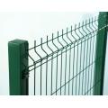 PVC beschichtete 3D geschweißten Draht Zaun Panel