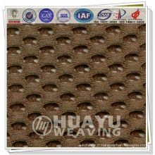 YD-7650, tissu de maille d'espacement, treillis d'air, tissu de maille de flux de polyester 3d