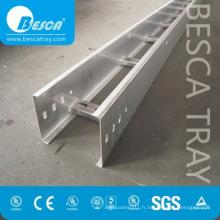 Échelle galvanisée à chaud d'échelle d'alliage d'aluminium Types de liste de prix de chemin de câbles (UL, cUL, NEMA, GV, CEI, CE, liste d'OIN)