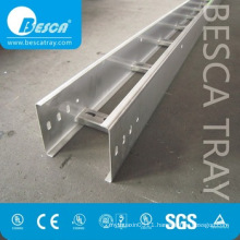 Hot dip Galvanised Aluminum Alloy Ladder Types of Cable Tray Price list (UL,cUL,NEMA,SGS,IEC,CE,ISO listed)