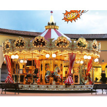 Outdoor Playground Merry Go Round for Children Lt4022A