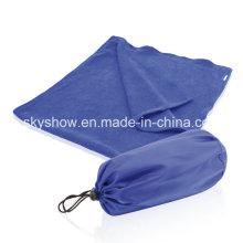 Serviette en microfibre avec sac en Nylon (SST0373)