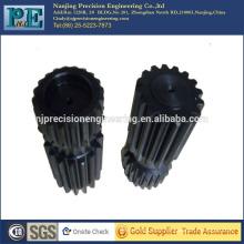 Custom CNC-Bearbeitung Getriebe Welle, CNC-Bearbeitung Motorrad Teile