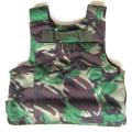 armure de corps molle jungle camouflage