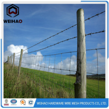 Zinc Coated Barbed Wire Fencing