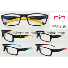 New Fashion Plastic Eyewear Eyewearframe Optical Frame (WRP411384)