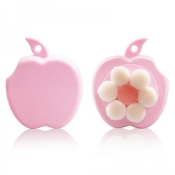 Projeto encantador Apple forma beleza rosto pele Facial escova escova de limpeza