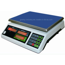Electronic 30kg Table Top Scale Price Calculer l'échelle de pesée