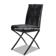 Nouvel populaire et confortable en cuir moderne dinant la chaise