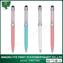 Erste Y223 Heiße Verkaufs-Kristallfeder mit dem Stift, der in China gebildet wird