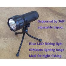 7 ватт синий свет светодиодный фонарик факел фонарик