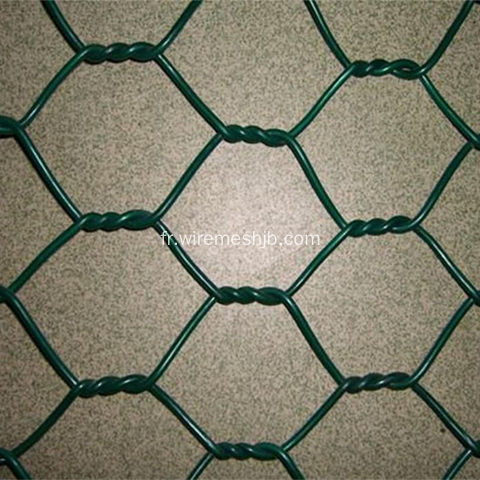 Filet hexagonal enduit de PVC 1/2 ''