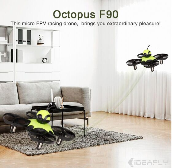 90mm Racing Drone Waterproof Quadcopter RTF