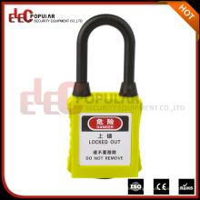 Hecho en China Shackle corto 38mm a prueba de polvo Aislamiento ABS Candados de seguridad