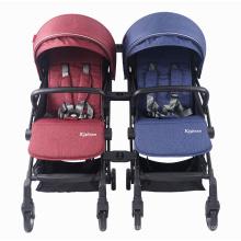 Conector duplo duplo para carrinho de bebê - acessórios para carrinhos de bebê