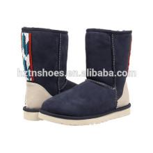Damen flache Schuhe Damen Winterstiefel