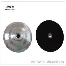 Almohadillas de aluminio flexibles con cierre de gancho y bucle