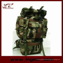 Große Kapazität 65L Bekämpfung Camping Rucksack für Wanderungen, militärische taktische Tasche