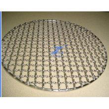 Malla de alambre prensada redonda de la barbacoa (TS-J43)