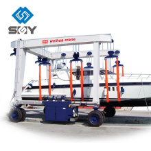100 Ton Boat Lifting Gantry Crane