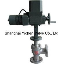 Válvula de control de ángulo eléctrico (ZRH)
