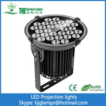 150w LED Projection Lighting of outdoor light fixtures