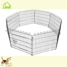 Wire welded galvanized metal puppy playpens