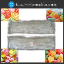 Thickeners E406 Food Grade Gel Strength 500-600g/Cm2 Agar Agar Strips