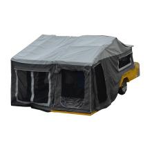 Coreia do reboque do carro de acampamento para fora da estrada