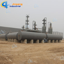 Big Discount Continuous Waste Rubber Oil Distillation Plant