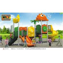 B10201 Gran parque de juegos de plástico al aire libre para niños
