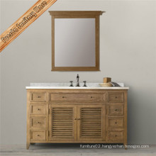 Fed-1682b Classic Shutter Design Bathroom Vanity Bathroom Cabinet