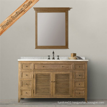 Fed-1682b Classic Shutter Design Bathroom Vanity Bathroom Cabinet