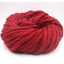 Hilado de lana merino de alta calidad de punto grueso para tejer a mano